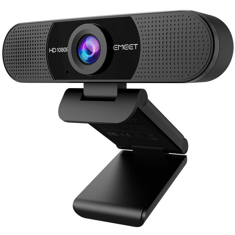 Webbkamera Emeet C960 HD med 2st mikrofoner
