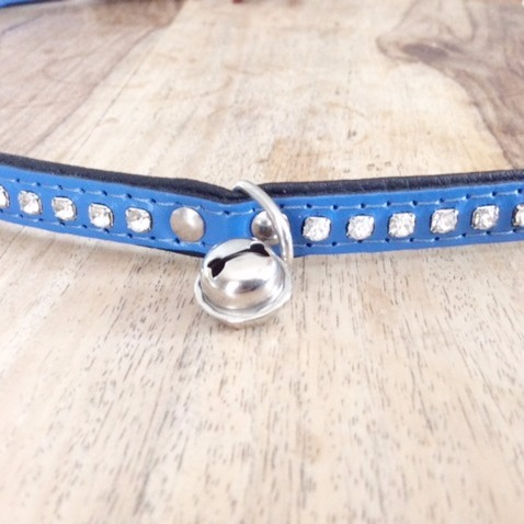 Pixie Cat Collar - Blå