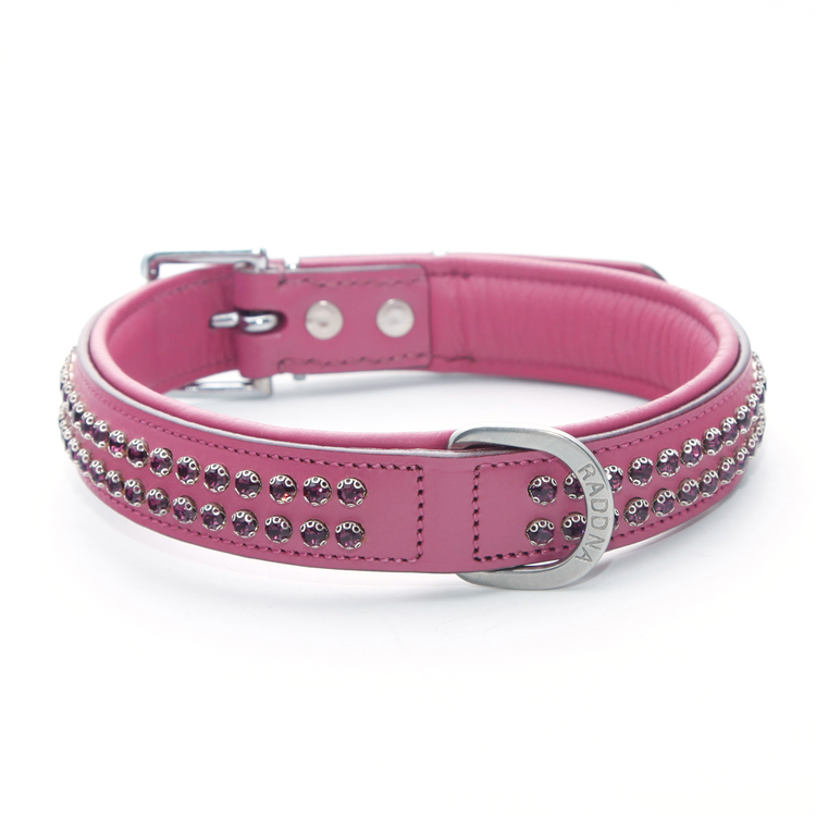 Sparkle Hundhalsband - Rosa