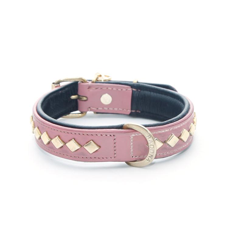 Seskarö Hundhalsband - Soft Pink
