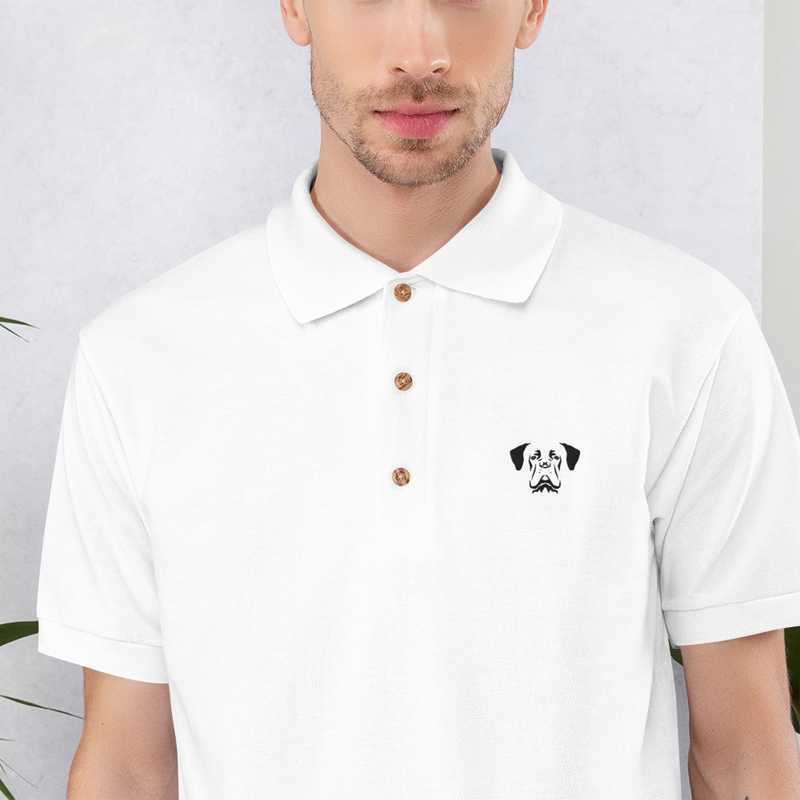 Embroidered Polo Shirt - Raddna B