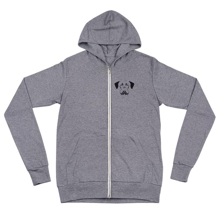 Unisex zip hoodie-Raddna