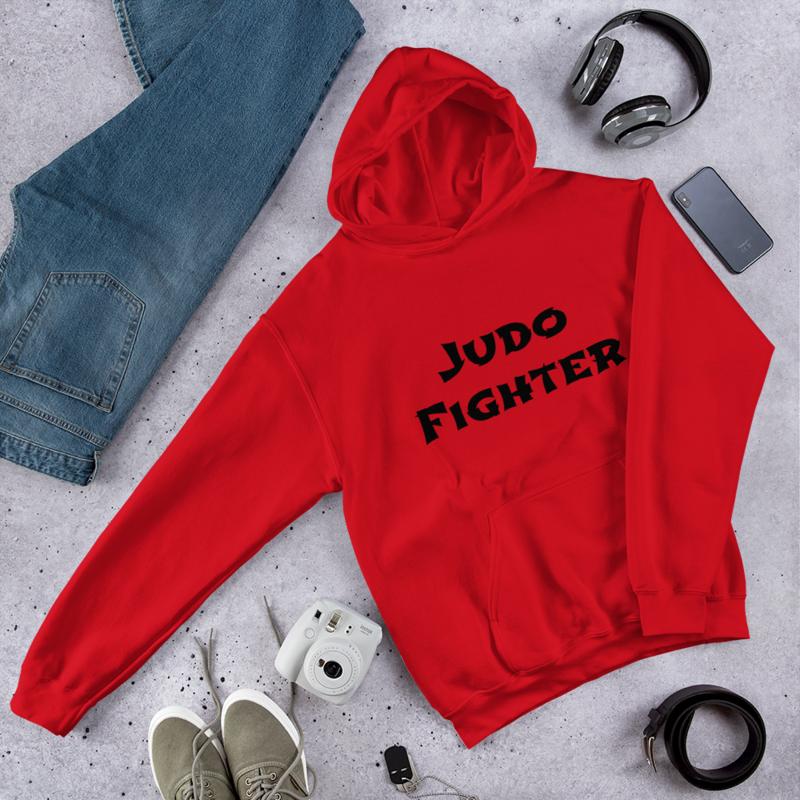 Unisex Hoodie Judo Fighter - Med din egen text