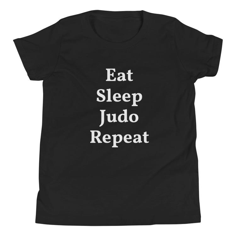 T-Shirt - Eat Sleep Judo Repeat