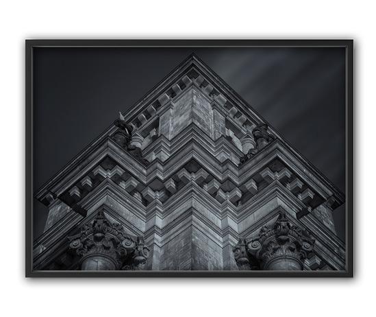 Building, 50x70 cm