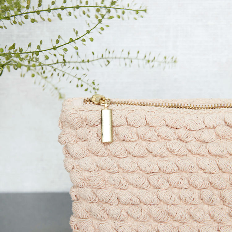 Toilet Bag Tofted, Rose