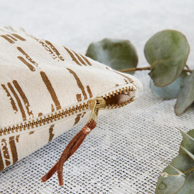 Makeup väska Row, Sand