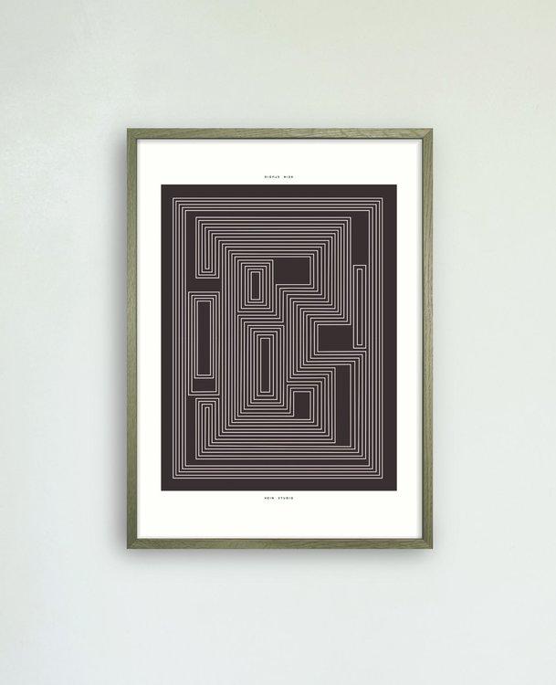Maze no. 02 - Limited Edition, 42x59,4 cm