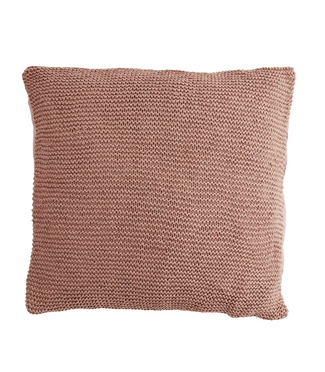 Kuddfodral Knitted, Dusty Rose