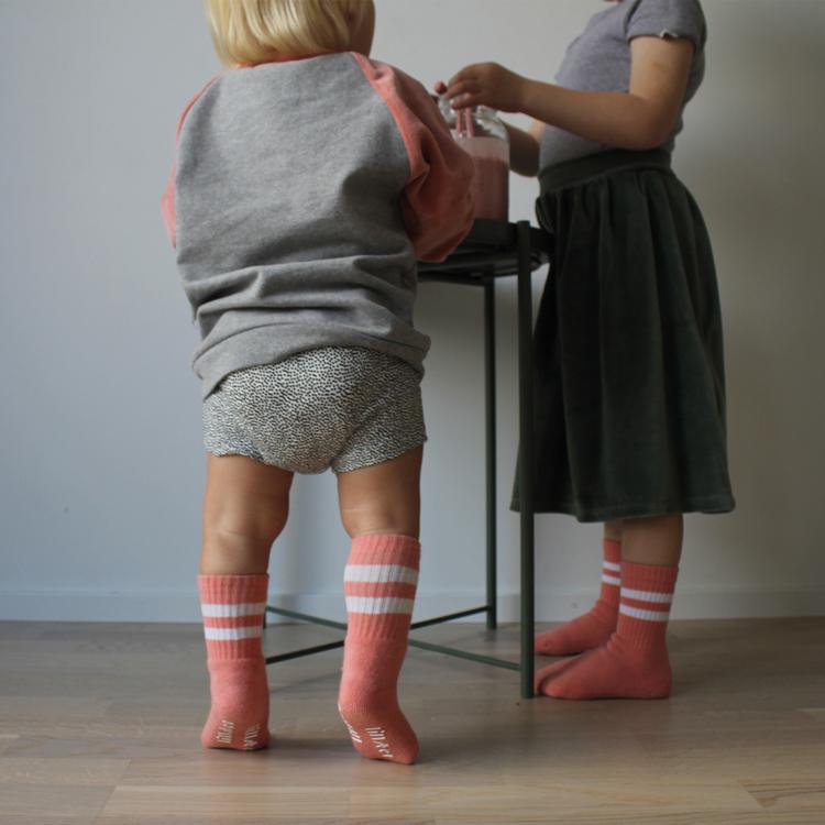 Hippo tube sock - baby