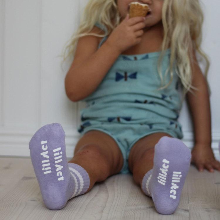 Purple tube sock - baby