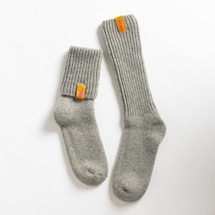 Granite raggis wool sock - big Lillster