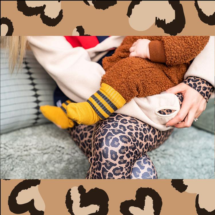Mustard Maggie wool sock - kiddo Lillster
