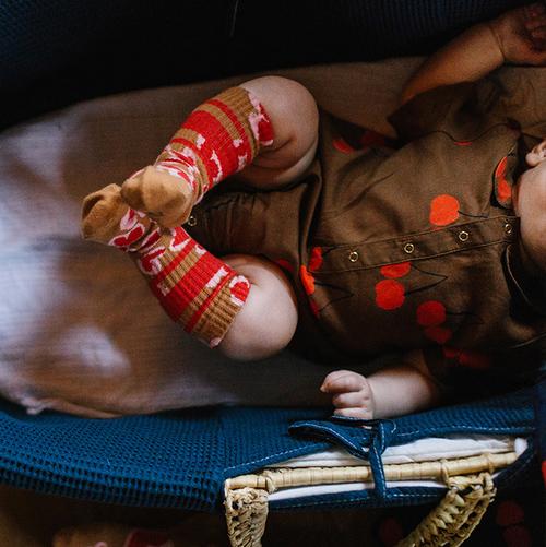 Hearty leo tube sock - baby Lillster