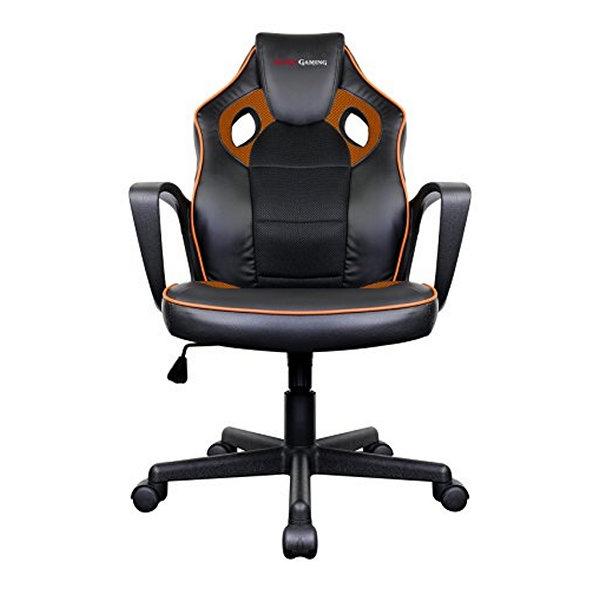 Game-Stol-Tacens-MGC0BO-Metall-PVC-Svart-Orange