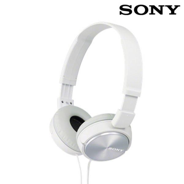 Vadderade-hörlurar-Sony-MDRZX310-Vit
