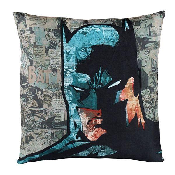 Setet med Filt och Kudde Batman!