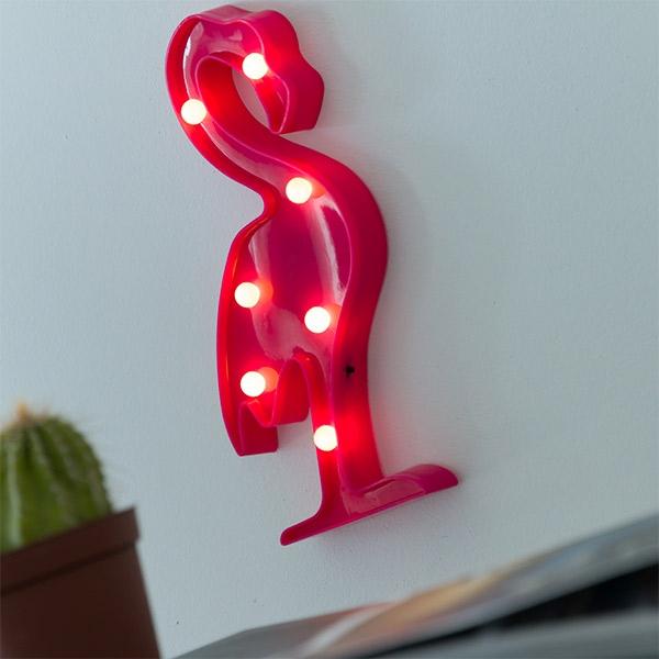 vagglampa-led-flamingo-7-led