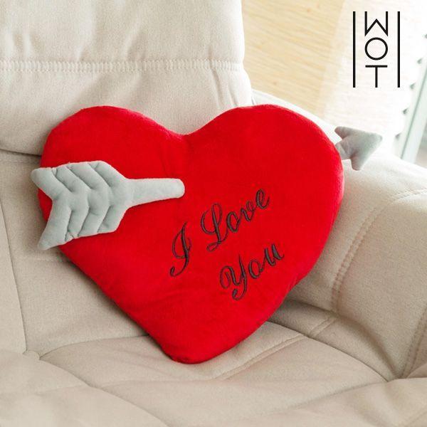 Kudden Hjärta med Pil I Love You Wagon Trend (35 cm)