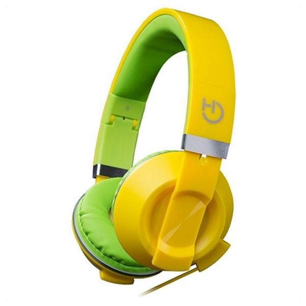 horlurar-med-mikrofon-hiditec-cool-kids-whp010006-gul