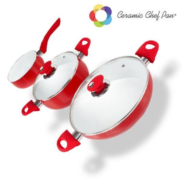 Grytsetet Ceramic Chef Pan (5 delar)