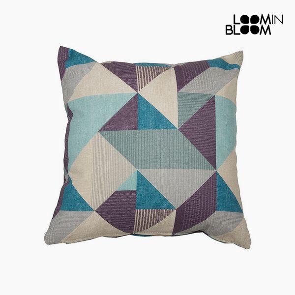 Kudde Bomull och polyester Blå (60 x 60 x 10 cm)