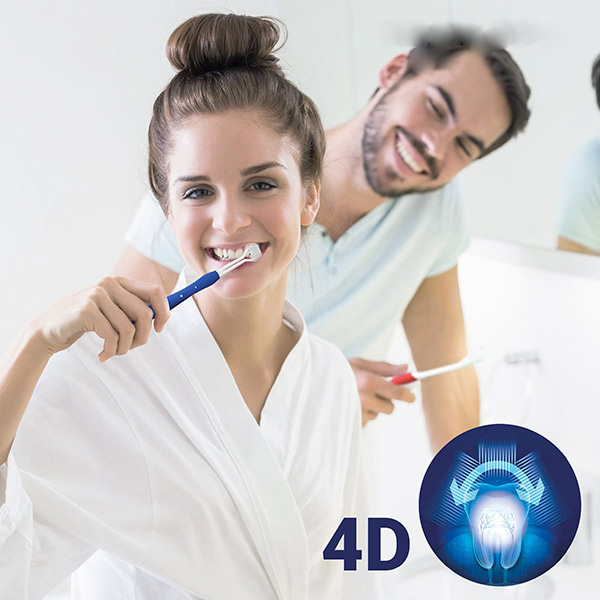 4st 4D tandborste