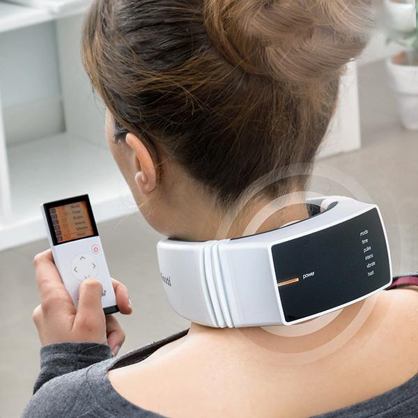 Återuppladdningsbar massageapparat för nacke Pro