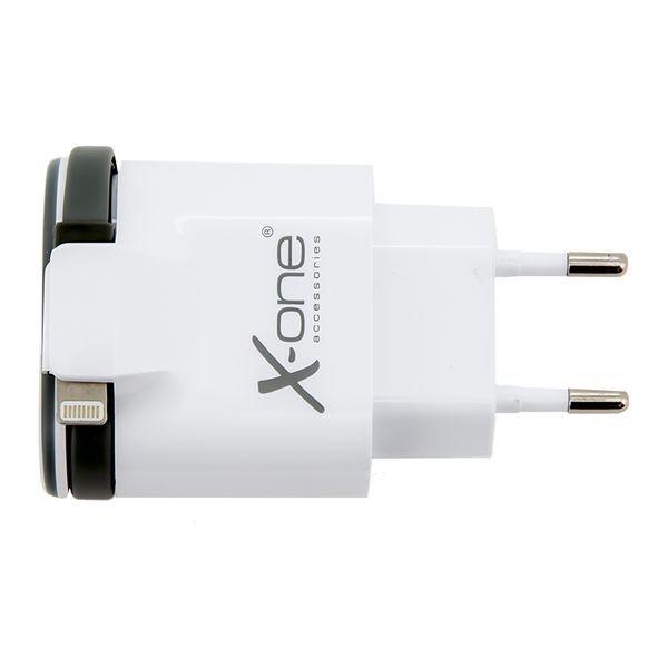 vaggladdare-2-x-usb-21-cable-lightning-svart