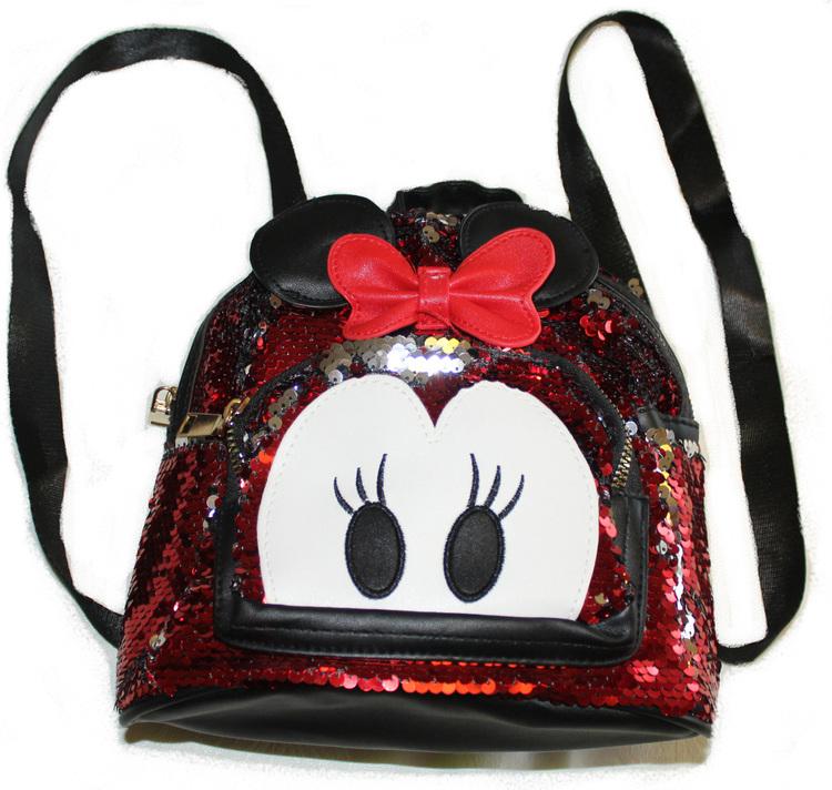 Minnie Mouse Barn Ryggsäck glitter
