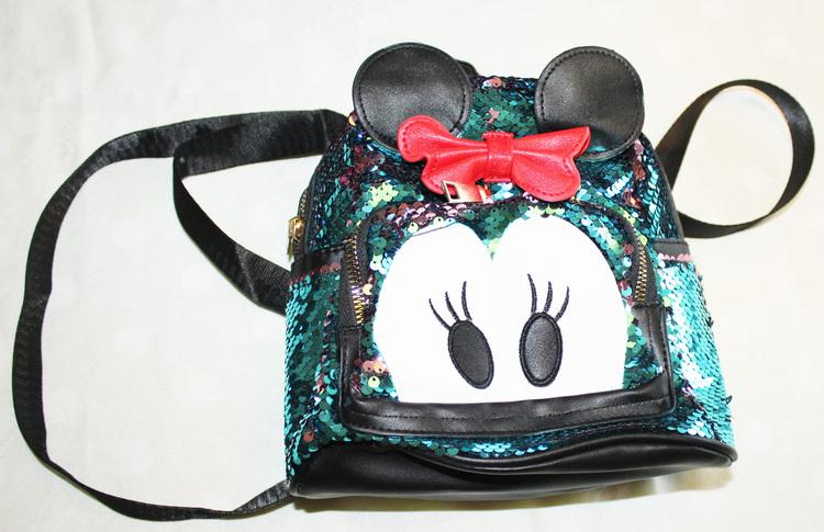 minnie-mouse-barn-ryggsack-glitter