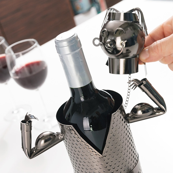 Tyngdlyftare metall flaskhållaren
