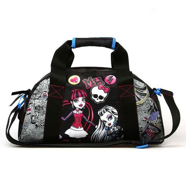 Sport- och resväska Monster High
