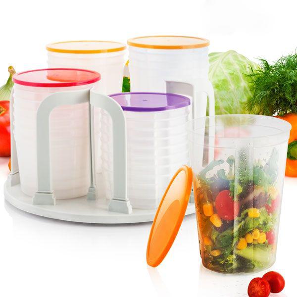 Plastbehållare  (49 delar)