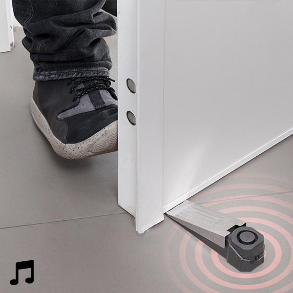 Dörrspärr med larm och kontaktsensor