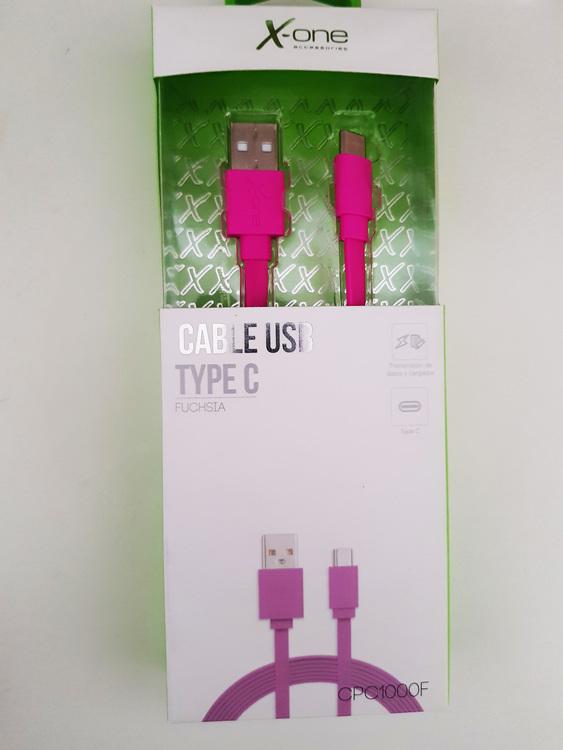 USB 2.0 kabel C 1m