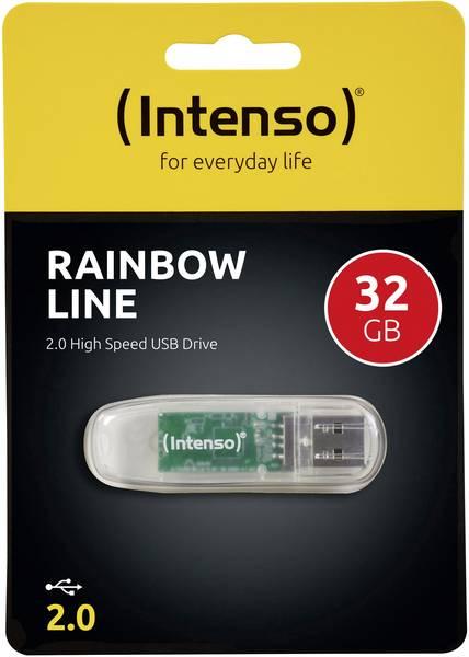 intenso-rainbow-line-usb-minne-32-gb-usb-20