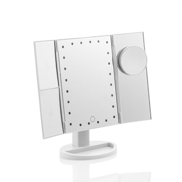 24 LED-ljus Trippel Touchspegel