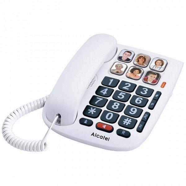 Alcatel TMAX 10 (handsfree-funktionalitet, äldre vänlig telefon)