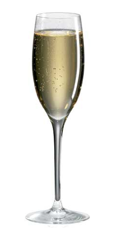 "Champagneglas ""Luxury cuvee"""