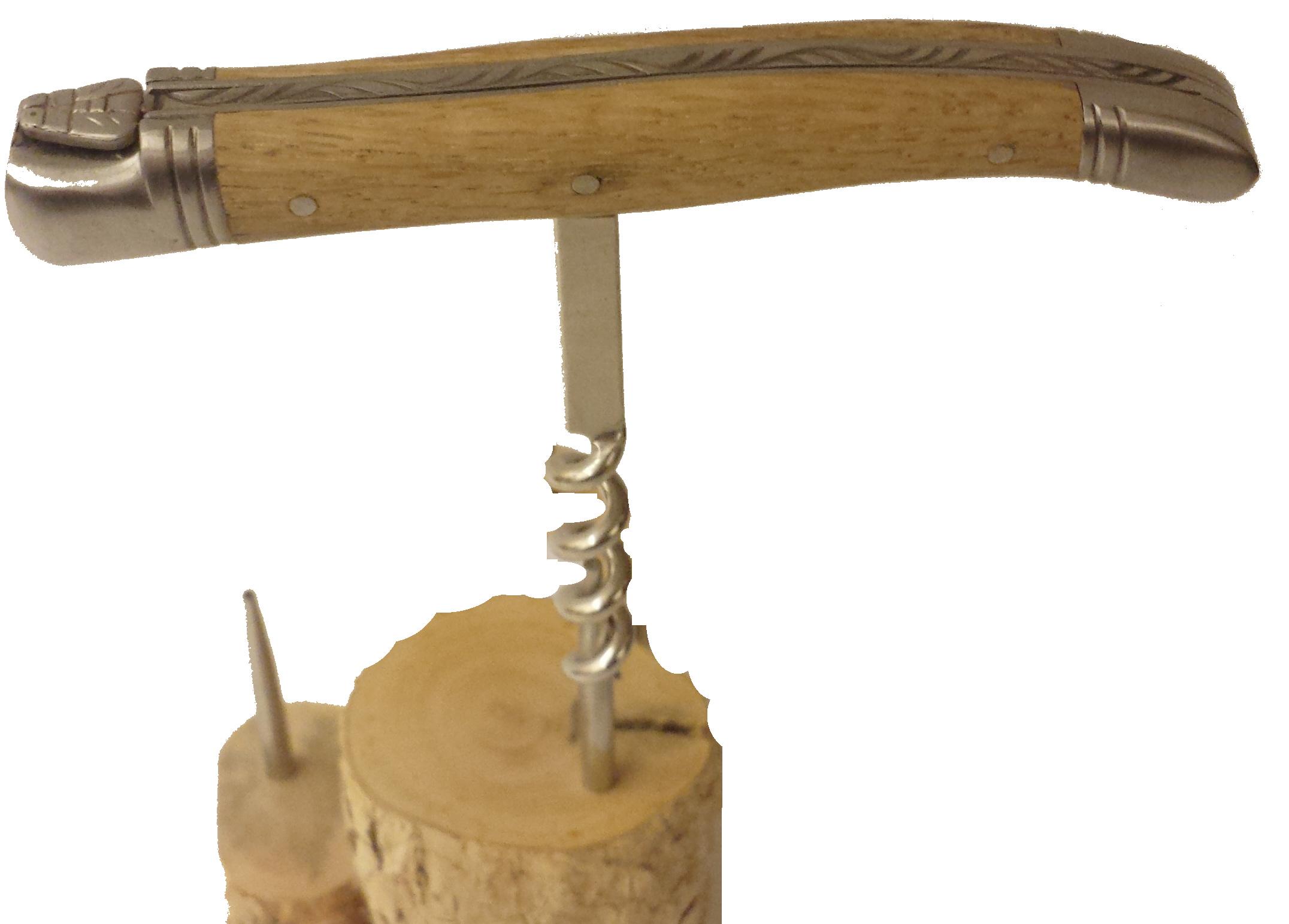 Korkskruv Laguiole djurgårdsek T-modell