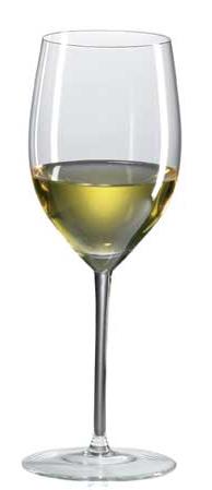 Vinglas  Chardonnay Mature munblåst