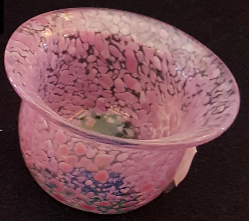 Skål rosa från Ulrica Hydman Vallien artist collection