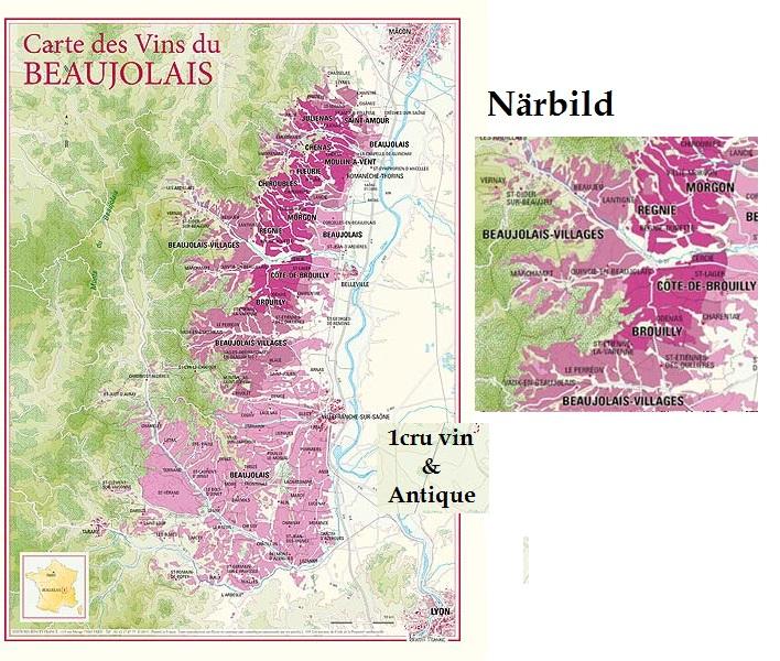 Vinkarta Beaujolais 30 x 40