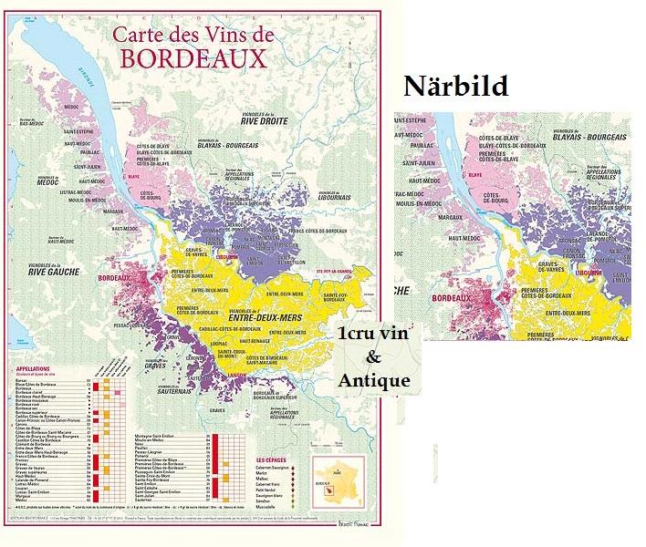 Vinkarta Bordeaux 30 x 40