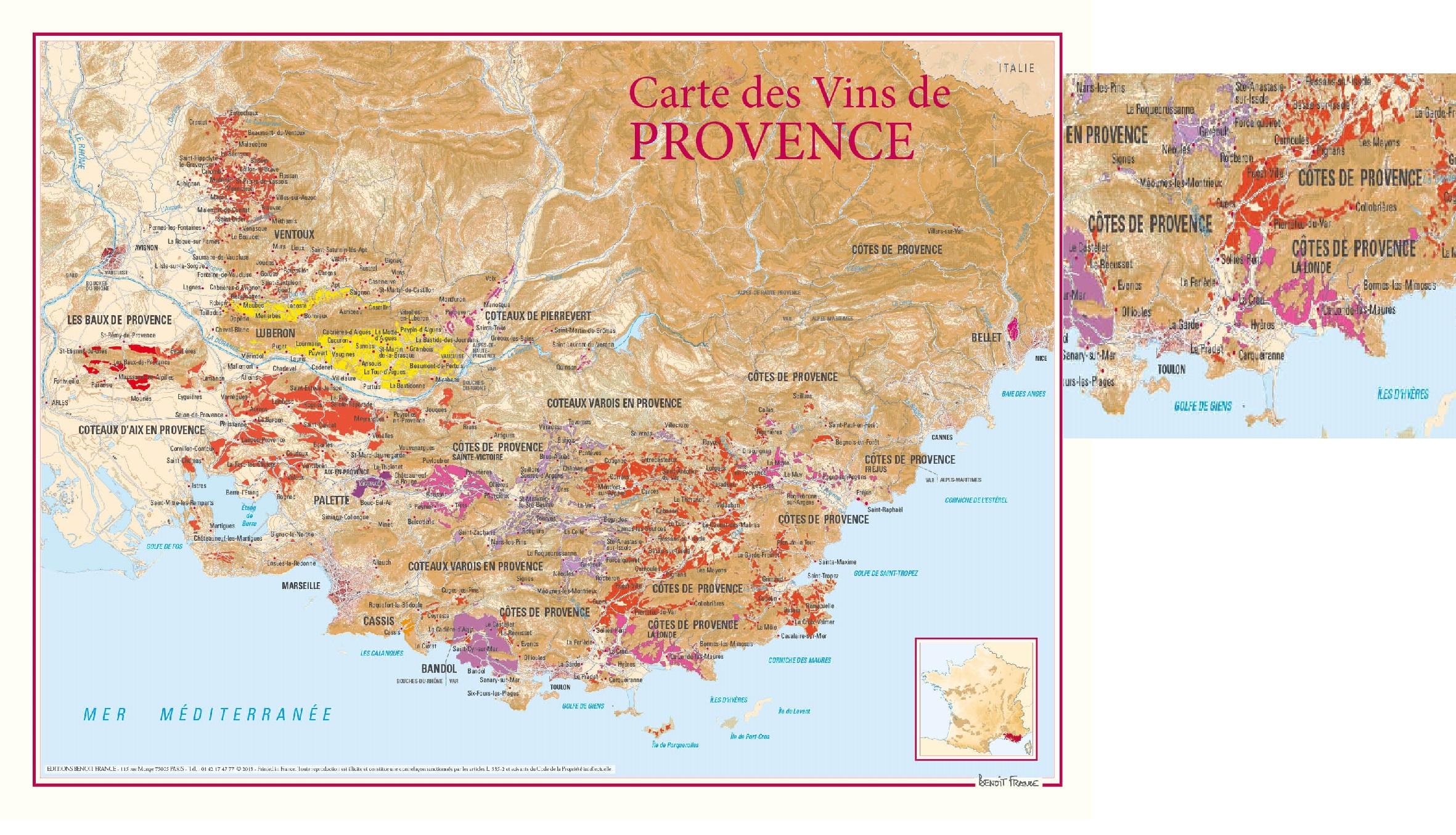 Vinkarta Provence