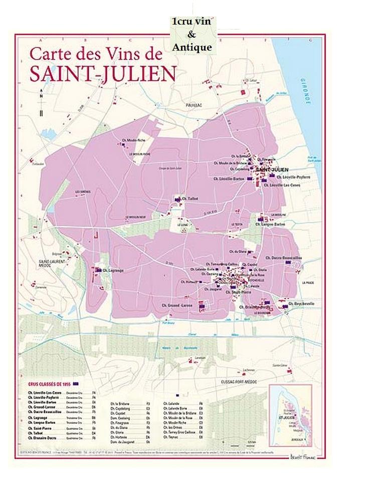 Vinkarta Saint-Julien Bordeaux
