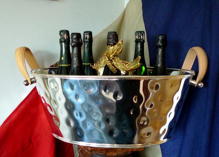 Champagnekylare 8 till 10 champagneflaskor