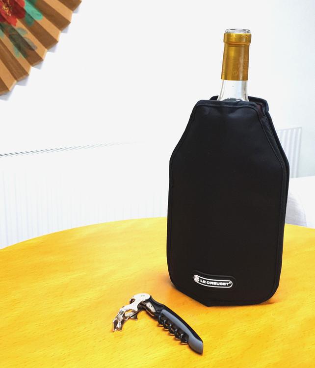 Vinpåse som kyler - Kylpåse för vinflaskor