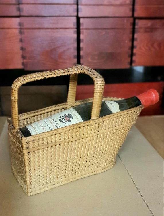 Serveringskorg för vinflaska